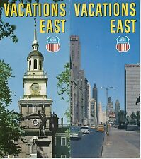 1963 Union Pacific Railroad Travel Brochure Vacations East Railway Trips
