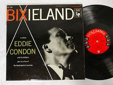 EDDIE CONDON BIXIELAND COLUMBIA CL 719 RECORD ALBUM LP