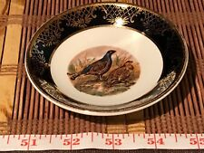 Weatherby Hanley England Royal Falcon Ware 2-72 Pheasants Collector Plate 4 1/8""