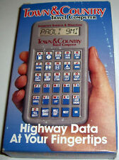 Vintage Town & Country Travel Computer: Computerized Highway Information