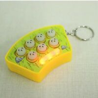 Mini WHACK IT Key Chain Amusement Game FUNNY GADGET Xmas STOCKING FILLER HZ-824