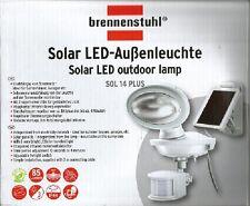 Solar LED-Außenleuchte SOL 14 Plus IP44 Integrierter infrarot Bewegungsmelder