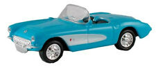 1957 Chevy Corvette, Blu - 1:87/H0 Gauge-MODEL POWER (19258)
