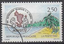 Specimen, France Sc2271 Voluntary Attachment of Mayotte to France, Sea Horse