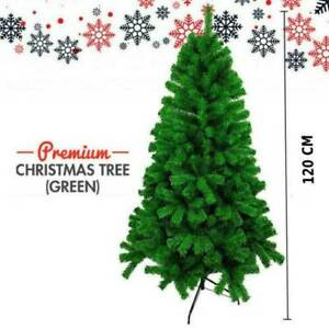 Christmas Tree 3ft 4ft Colorado Pine Artificial Xmas Traditional Decoration UK