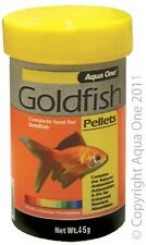 Aqua One A1-26030 Goldfish Pellet Food 1mm 45g for aquarium fish