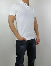 NWT HOLLISTER Men Muscle Fit Shaw Cove Boneyard Beach Polo Shirt By Abercrombie
