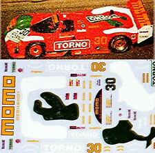 Porsche 962 Daytona 89 Torno Momo 1:24 Autocollant Décalcomanie