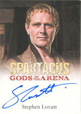 "Spartacus Gods of the Arena - Stephen Lovatt ""Tullius"" Autograph Card"