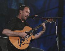Dave Matthews Musician SIGNED 8x10 Photo COA!
