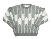 XL Mens Vtg London Fog 80's Coogi Style Retro Cosby Biggie Ugly Sweater