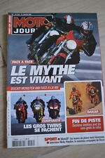 MOTO JOURNAL 1552 DUCATI 900 Dark 999 1000 Monster YAMAHA R1 APRILIA RSV VICTORY