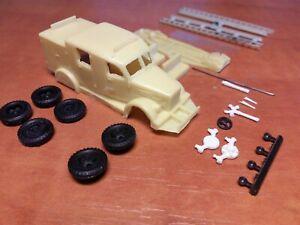 1/87 (HO) GAZ-51 LF15 Fire Truck  - Limited edition resin kit