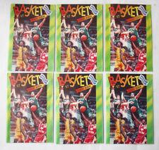 1X VERY RARE GREEK BASKETBALL 1996 1997 STICKER PACKET GREECE NEW SEALED !