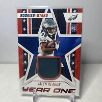 2020 Panini Rookies and Stars JALEN REAGOR Year One Jersey Patch Card RC