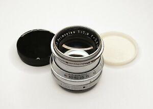 Meyer-Optik Gorlitz Primoplan 5.8cm f/1.9 Lens Exakta Prewar Heavy Chrome Rare