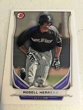 2014 Bowman Draft  TP-21 Rosell Herrera 10 Card Base Paper Lot -Colorado Rockies