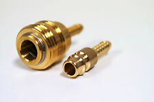 Druckluftkupplung 10mm + Stecknippel Steckkupplung Schlauchanschluss Durckluft