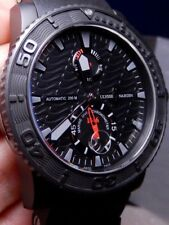 Ulysse Nardin Maxi Marine Diver Black Ocean Limited 99% LNIB 263-38 Discontinued