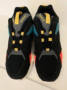 Reebok Women's AZTREK DOUBLE NU POPS Running Shoes Black/Alloy DV8172 d Size 10