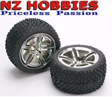 Traxxas 5573 Rear Twin-Spoke Wheels w/ Victory Tires (2) Nitro Stampede / Jato