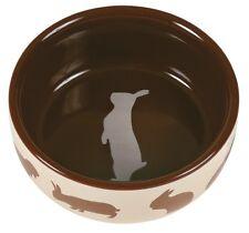 Trixie Ceramic Rabbit Feeding Dish  / Bowl Beige 60733