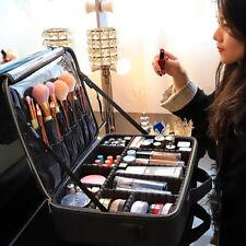 Large Capacity Make Up Bag Vanity Case Cosmetic Storage Box Manicure Kit