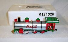 """NEW HAWTHORNE VILLAGE COCA COLA """"LIGHT THE HOLIDAY"""" TRAIN SET FIRST 3 ISSUES NOS"""