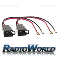 Speaker Adaptor Lead FOR Nissan Audi A4 A2 Vauxhall Astra Corsa Seat Leon VW