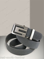 Shark Skin Belt ## Gray ## Genuine Sharkskin by Implora