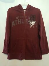 BOY'S MOSSIMO SUPPLY CO. MAROON ZIP UP HOODIE XL (16/18)