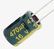 Condensateur électrolytique 16V 470uF Radial Aluminium Capacitor 8x12mm