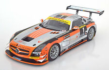 Minichamps Mercedes Benz SLS AMG GT3 Winner 24h Dubai 2013 #1 1 /18 New In Stock