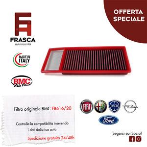 Filtro Aria Sportivo BMC FB616/20 FIAT PUNTO EVO 199 1.3 MULTIJET 75 84 90 95 CV