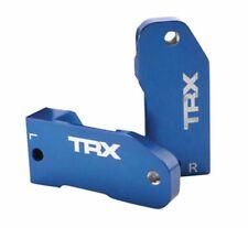 New Traxxas L/R Aluminim Caster Blocks Blue : 1/10 Rustler VXL / XL-5 # 3632A