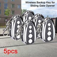 5× Automatic Sliding Gate Opener Hardware Kit With Keys