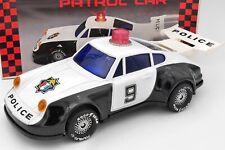 JOUET ANCIEN PORSCHE POLICE HIGHWAY PATROL CAR AVEC SA BOITE