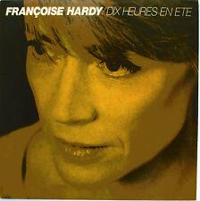 """FRANÇOISE HARDY - CD SINGLE PROMO """"DIX HEURES EN ÉTÉ"""""""