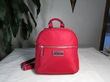 NWT Calvin Klein Belfast Nylon Vegan BackPack Red