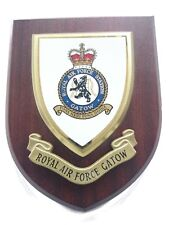RAF Station Gatow Wall Plaque Royal Air Force Military Shield Wall Plaque