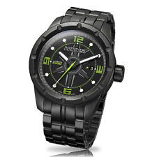 Black Swiss Watch Wryst Ultimate ES30 Limited Edition With Black DLC Coating
