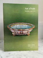 Catálogo De Venta Art Asia Secretaria Louis XVI Palacio Galliera 25 Mars 1977