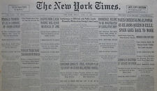 4-1931 APRIL 17 PARIS CHEERS KING ALFONSO IN EXILE SPAIN ZAMORA. CRAIN SEABURY