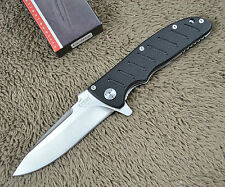 Enlan Bee EL01A Pocket Folding Knife G10 Handle One Hand Open Camping Tool Gift