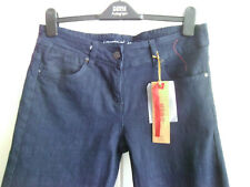 SMART DARK BLUE BOOTCUT JEANS BY DENIMCO - SIZE 12