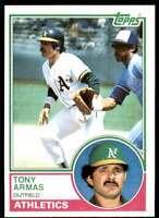 1983 Topps Set Break 2 Tony Armas Oakland Athletics #435