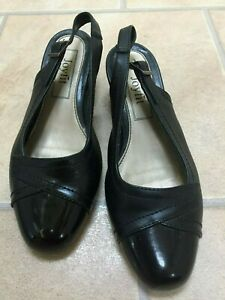Joyfit 💖 very elegant black shoes heels sandals excellent conditon size 5.