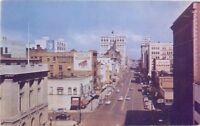 Birdseye View 1940s Spokane Washington Riverside Avenue Roberts postcard 161