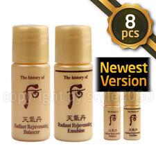 [The history of Whoo] Radiant Rejuvenating Balancer 4pcs Emulsion 4pcs = 8pcs