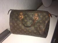 Louis Vuitton Speedy 30 original Vintage Bag Tasche LV monogram